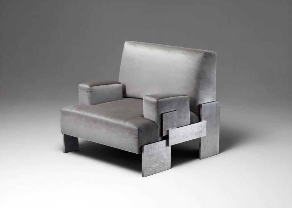 Strata armchair