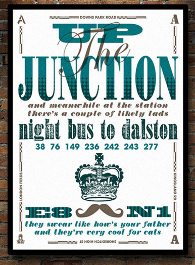 Up The Junction print