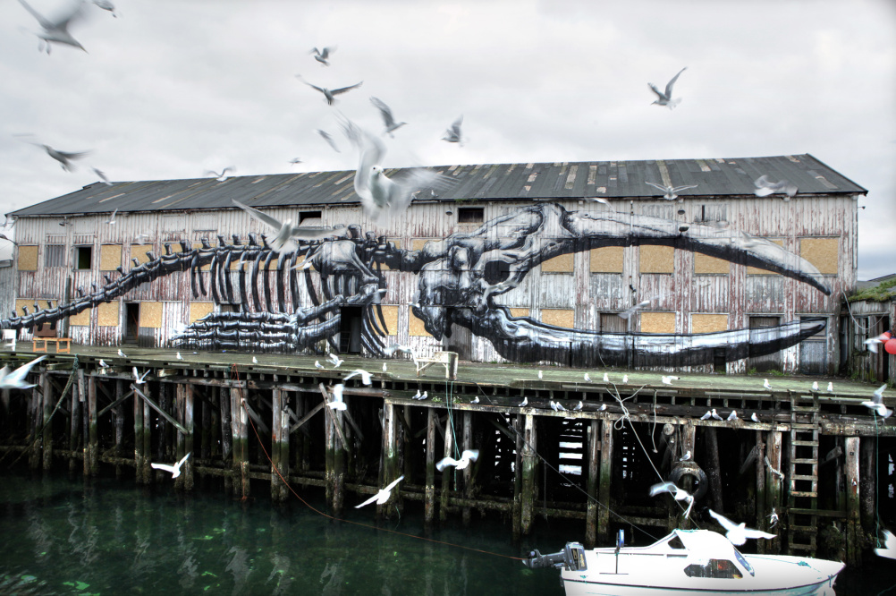 Skeletal work by ROA