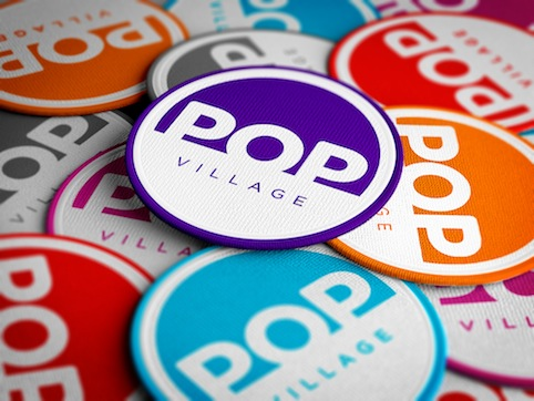 Pop Village Patches
