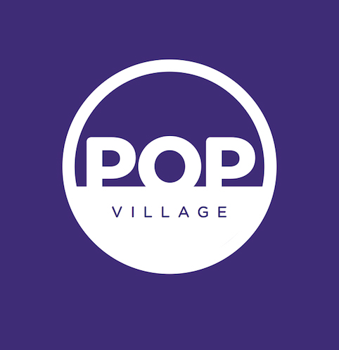 Pop Village logo