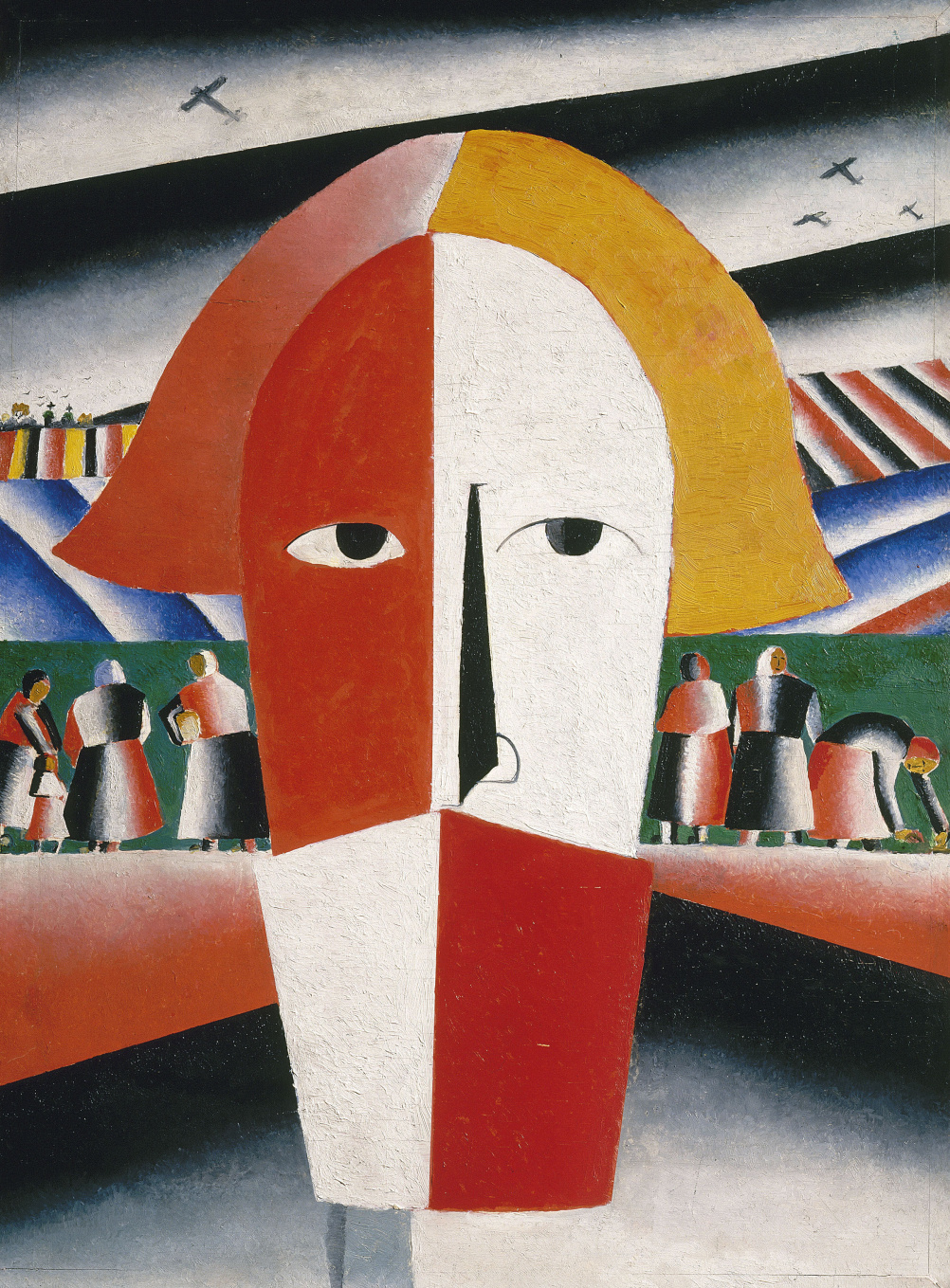 Malevich (1878 - 1935)?Head of a Peasant 1928-29?