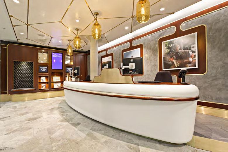 Eurostar Business Class ticket hall by Christopher Jenner