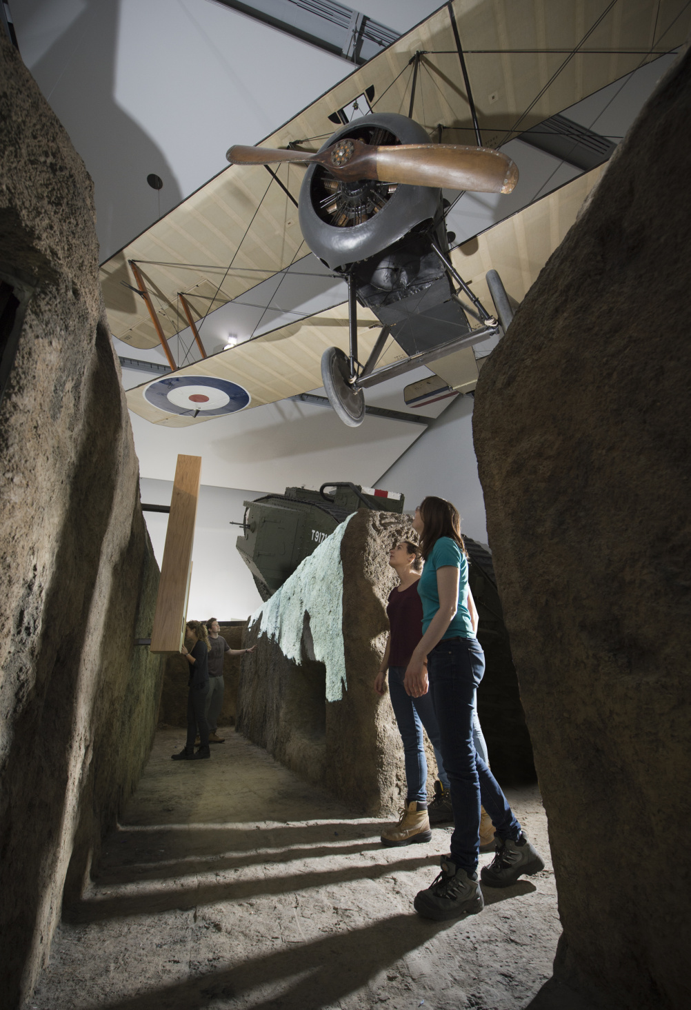 The trench in the First World War Galleries