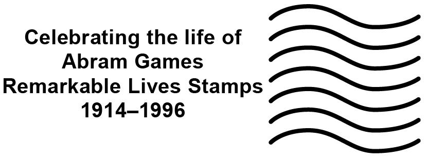 Abram Games postmark