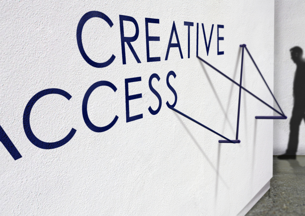 Creative Access wall graphics