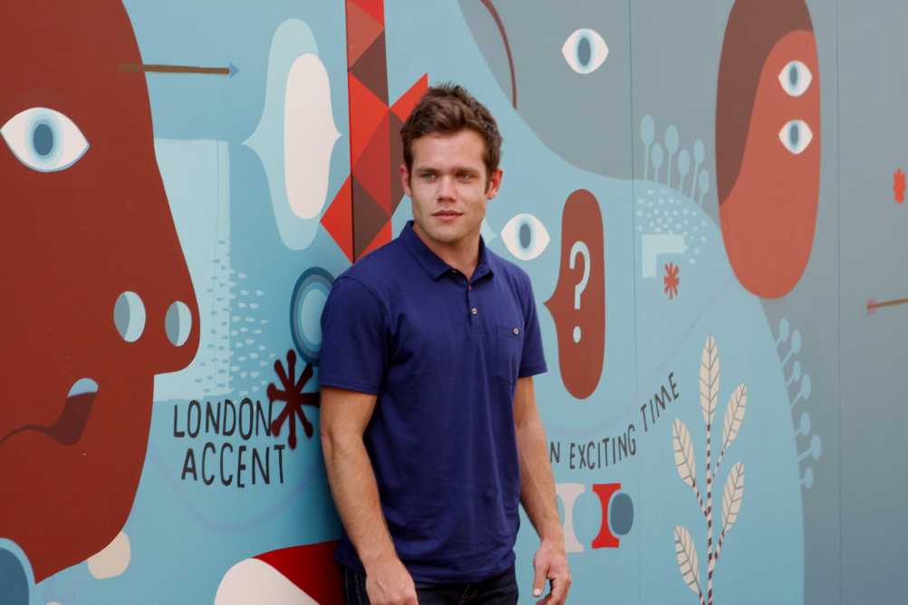 David Shillinglaw launches Tapestry part of Living Walls at Queen Elizabeth Olympic Park