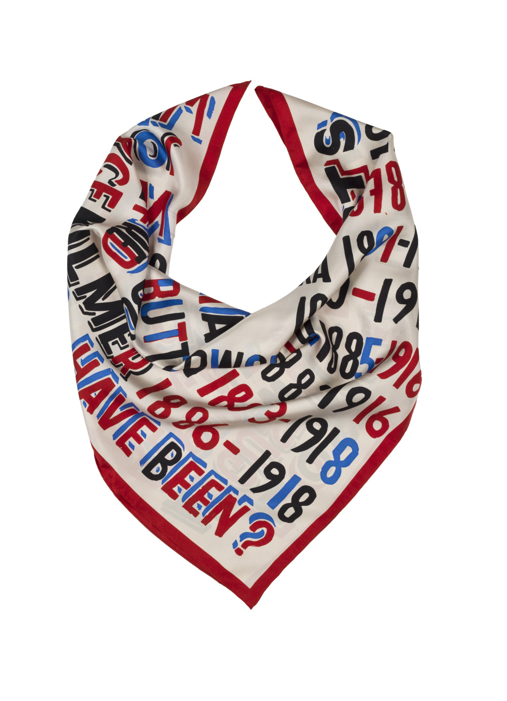 Lost Artist Scarf wrap by Bob and Roberta Smith
