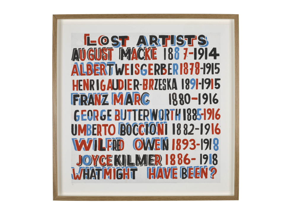 Lost Artist print by Bob and Roberta Smith