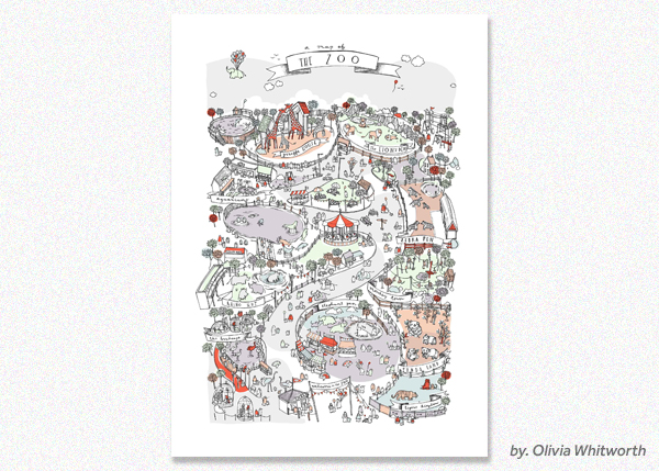 Olivia Whitworth, A Map of the Zoo