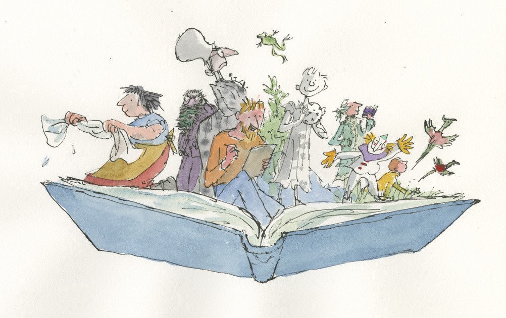 Quentin Blake Inside Stories