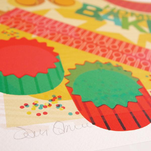 Baking Print