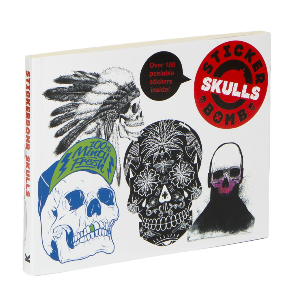 Stickerbomb Skulls cover