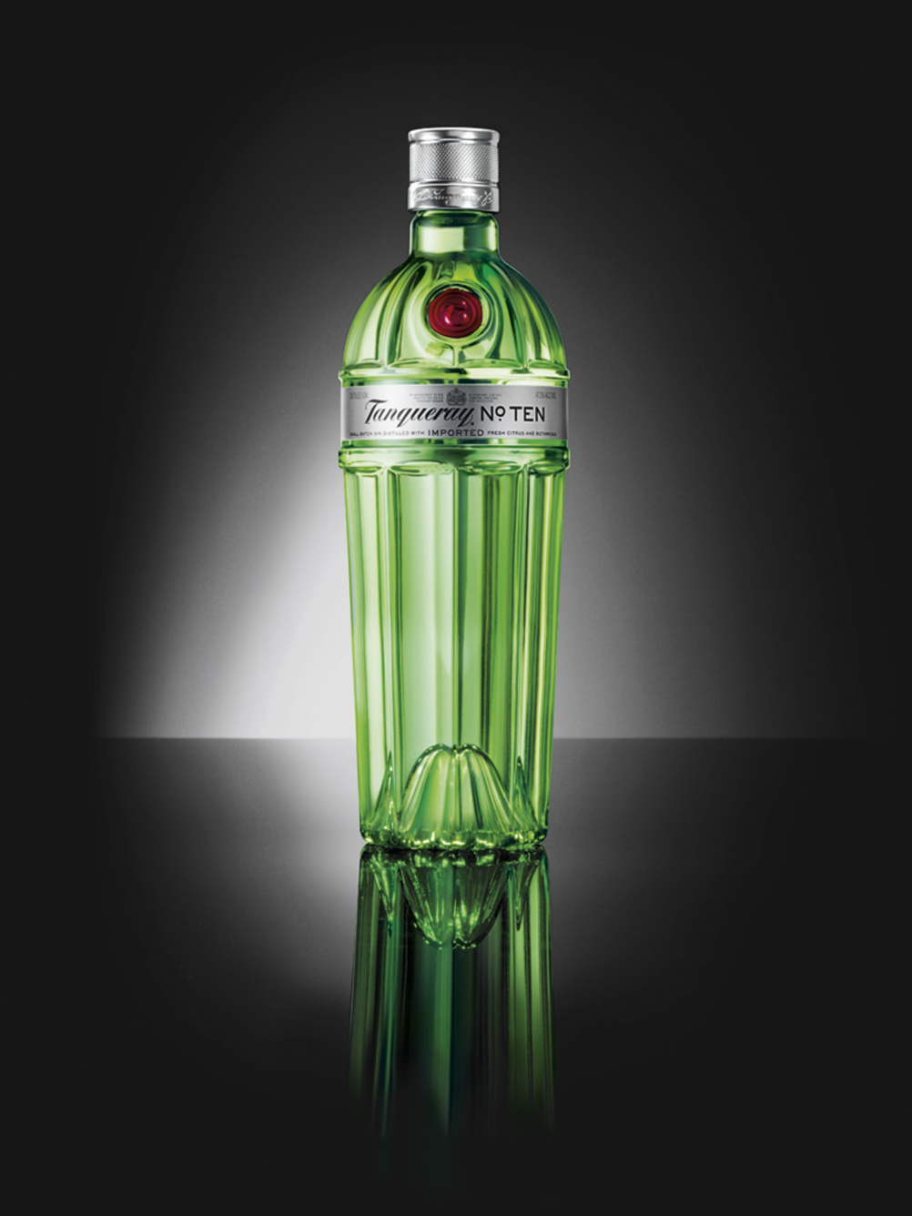 Design Bridge's new packaging for Tanqueray No.Ten, for Diageo