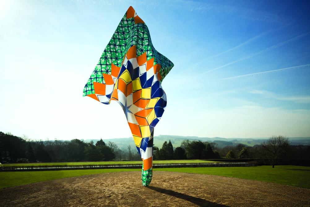 Yinka Shonibare MBE, Wind Sculpture, 2013.