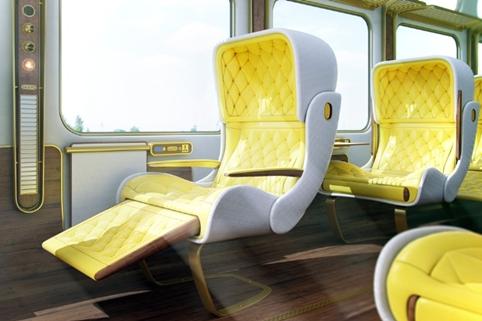 Christopher Jenner's earlier Eurostar concept design