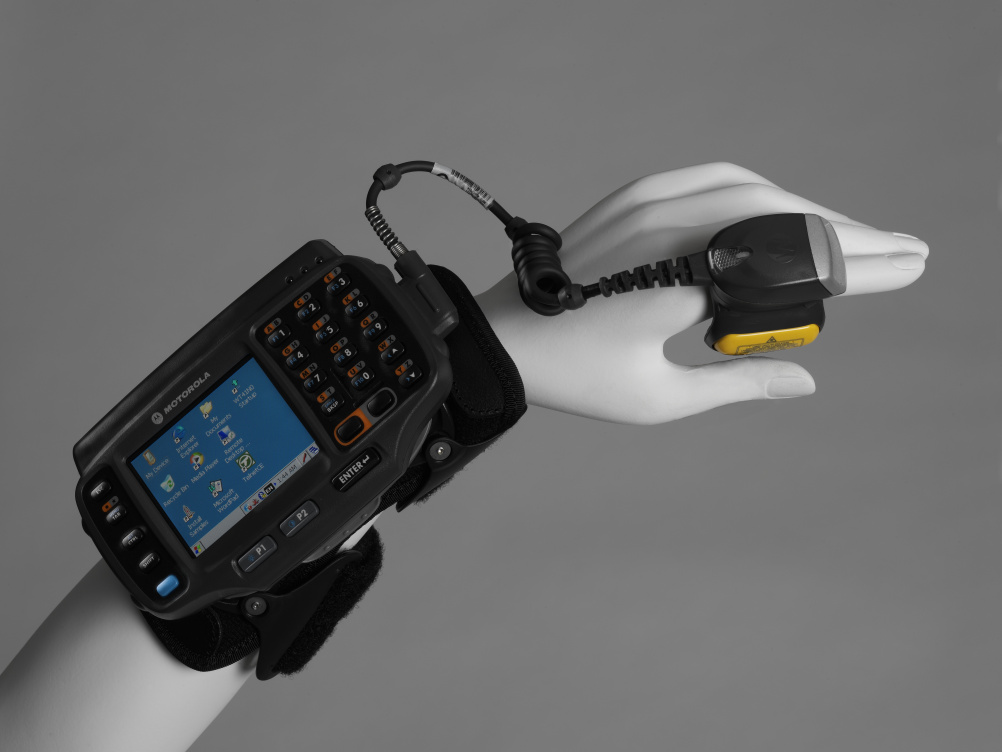 Motorola WT41N0 wearable terminal, 2013, designed and manufactured by Motorola Solutions