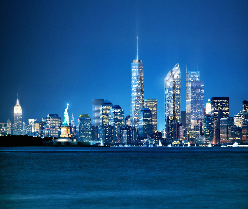 Visualisation of the completed World Trade Center development