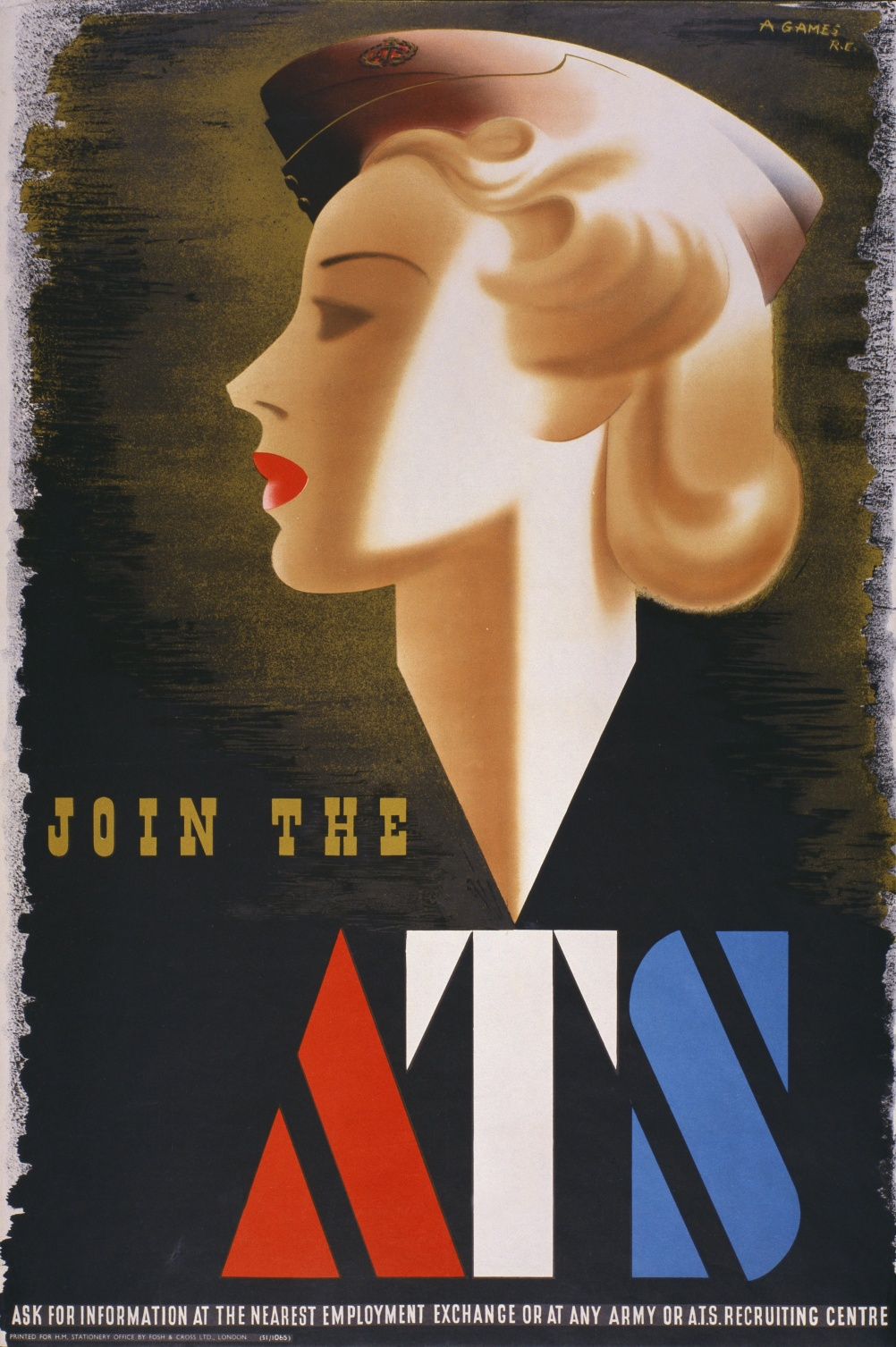 Join the ATS, 1941 Abram Games