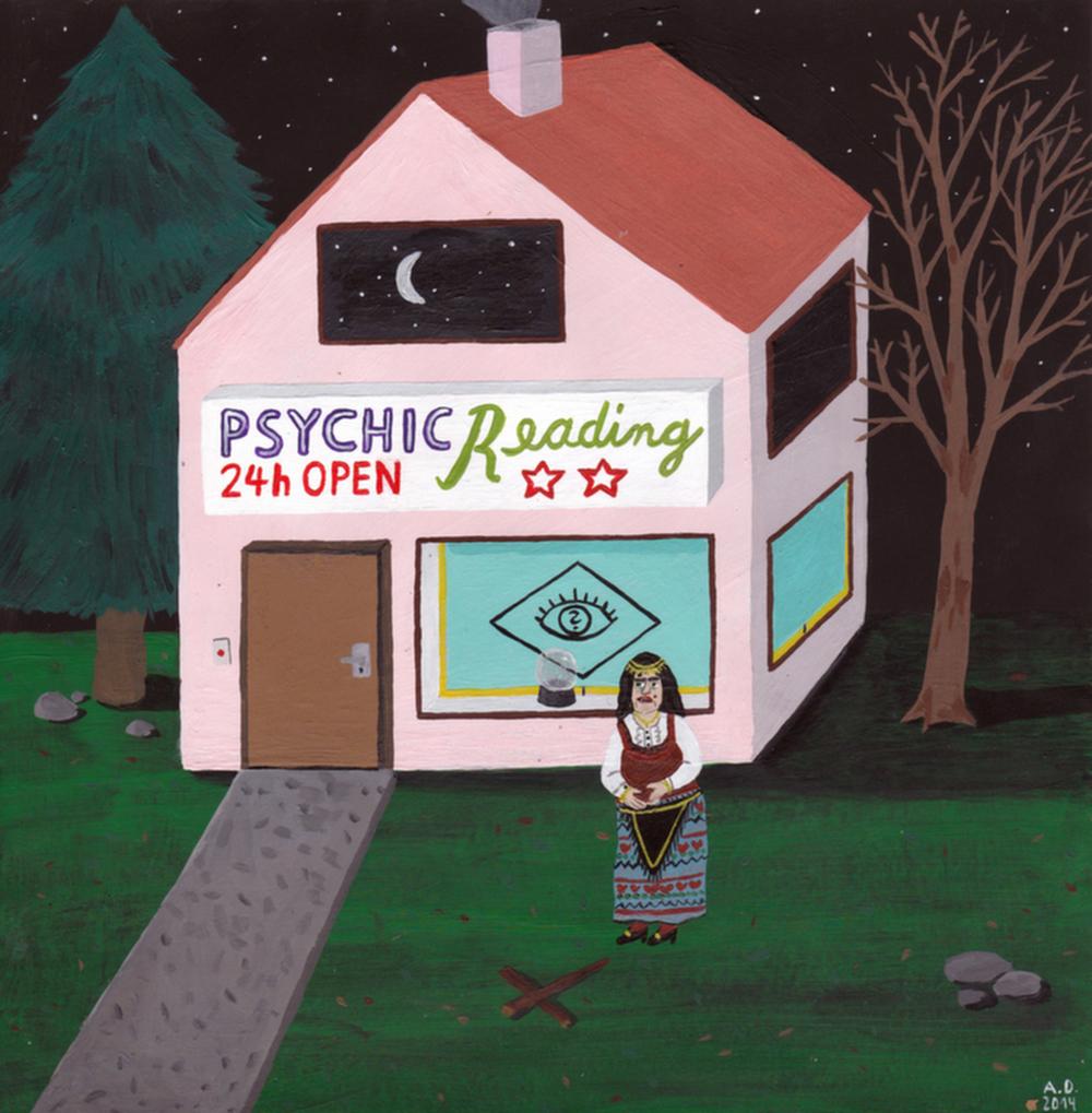 Angela Dalinger, Psychic Interior.