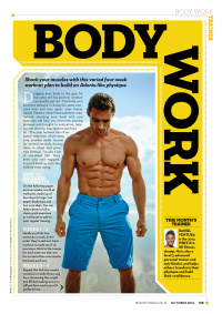 Men's Fitness spread