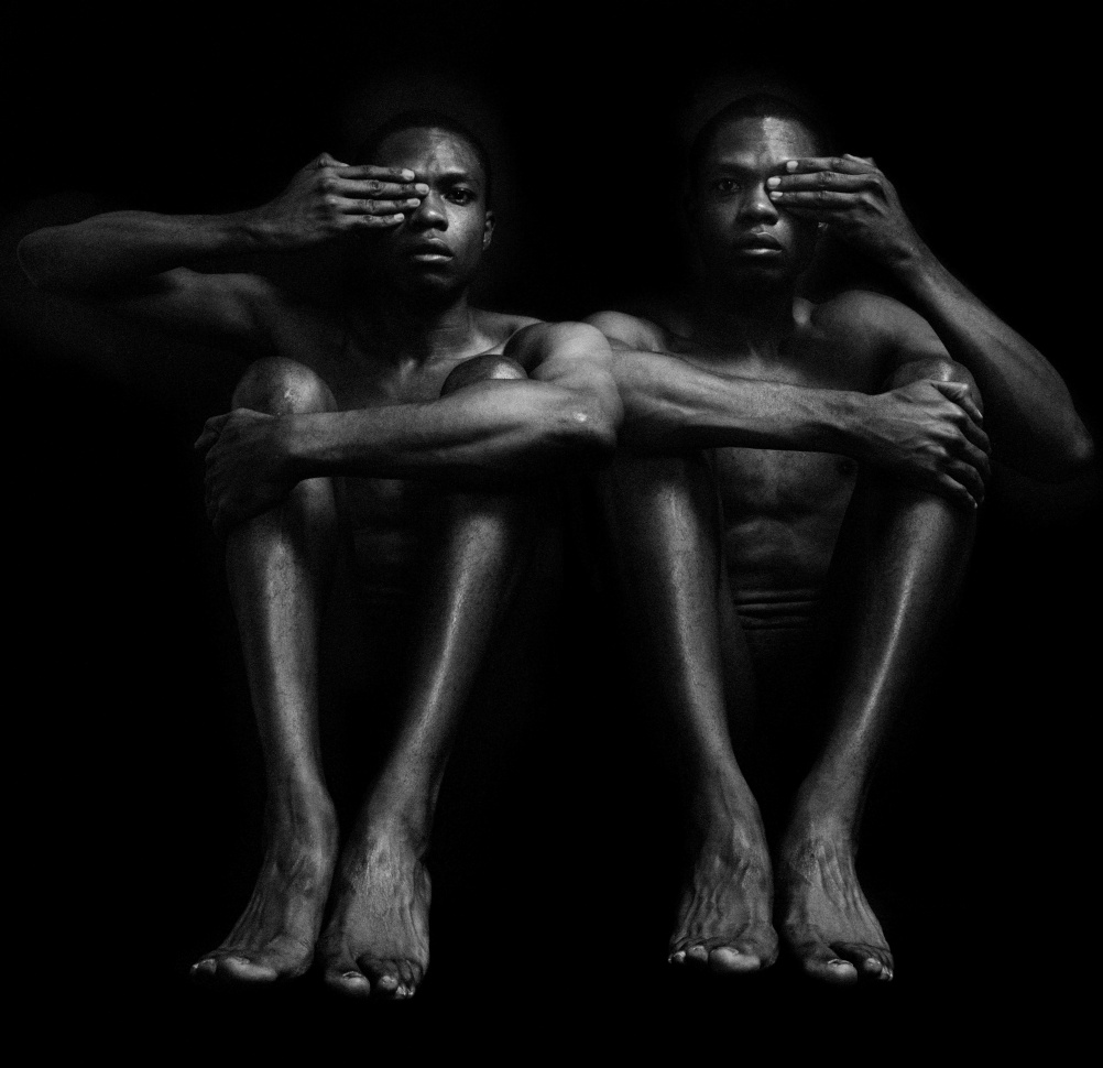 Half Opened Eyes Twins, 1989