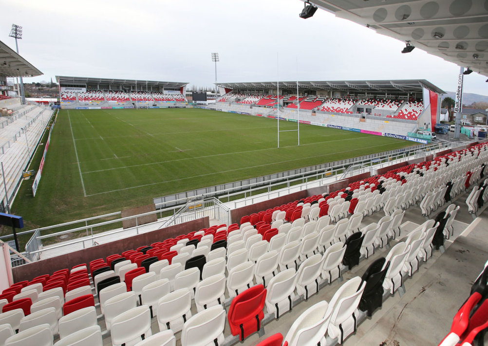 Ulster Rugby's Kingspan Stadium