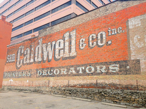 Sam Caldwell & Co. Inc. Painters & Decorators. Photographer: Maya Drozdz/ VisuaLingual. Location: Cincinnati, OH