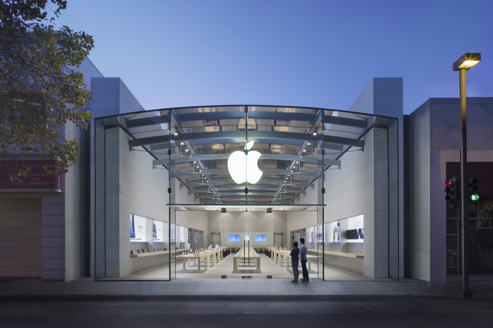 Apple's Palo Alto store