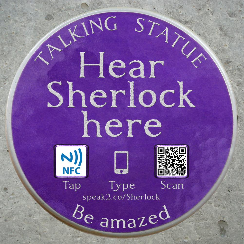Purple Plaque