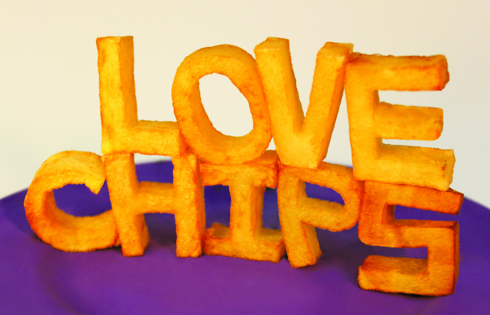 Love Chips. Designer: Sonia Lamera. Location: Lisbon