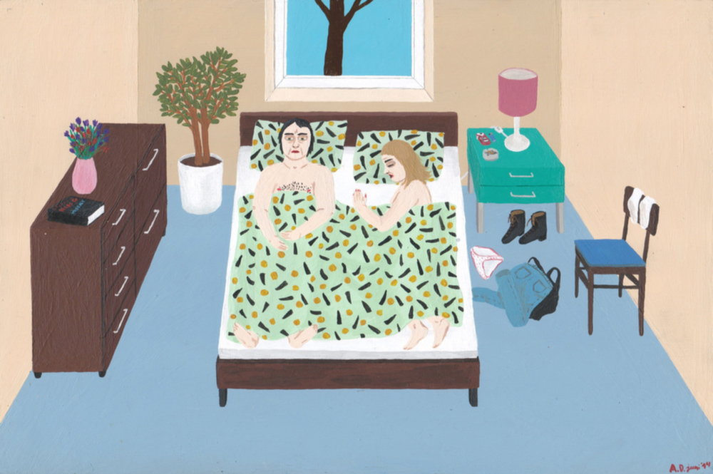 Angela Dalinger, Bed