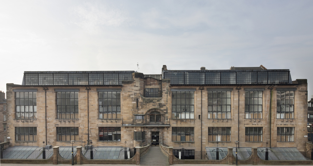 Glasgow School of Art before the fire