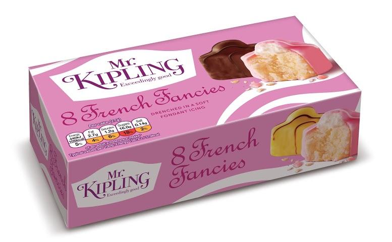 New look Mr Kipling packaging