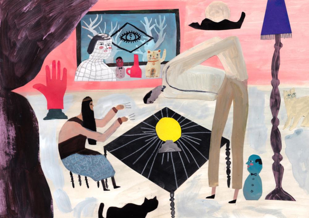 Nicholas Stevenson, Psychic Interior