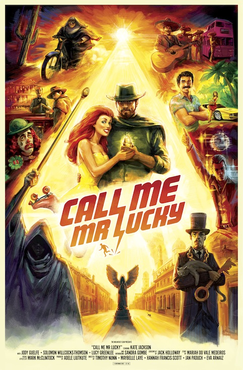 Call Me Mr Lucky poster