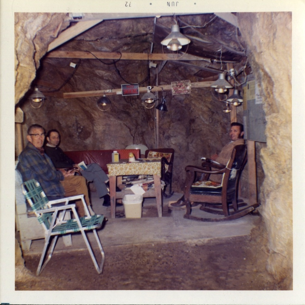 Photographer Unkown, Cave Bomb Shelter, June 1972
