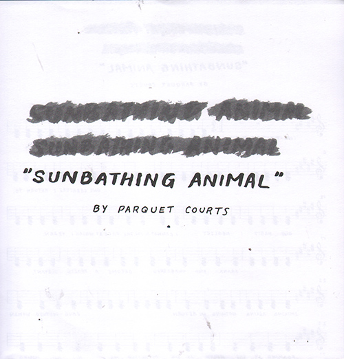 Sunbathing Animal, by Parquet Courts