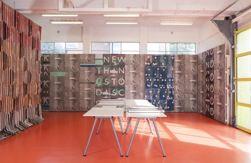 Ciara Philips, Workshop (2010 – ongoing) 2013 Installation view from The Showroom, London (2013)
