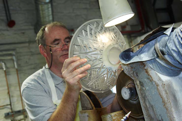 Waterford Crystal manufacturing