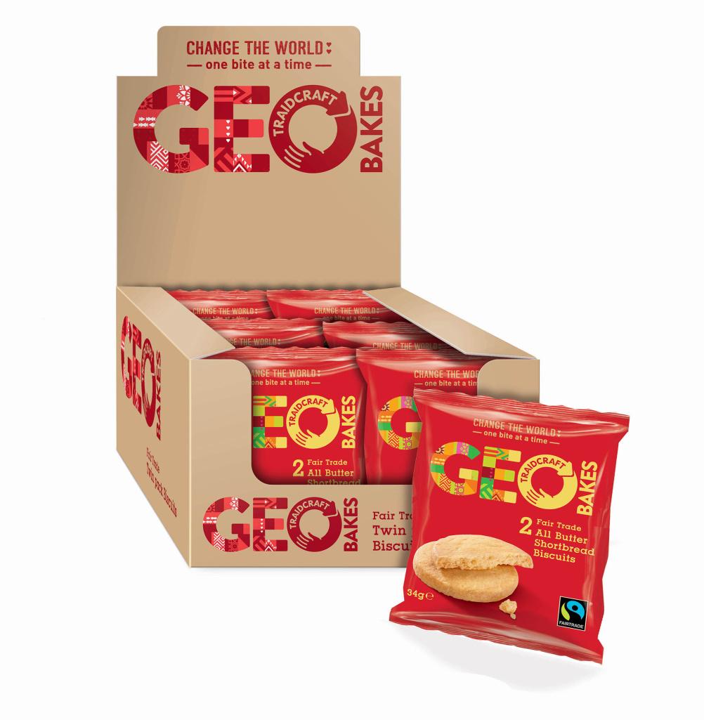 Geo Bakes Butter Shortbread