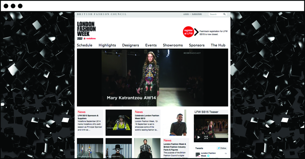 The LFW website