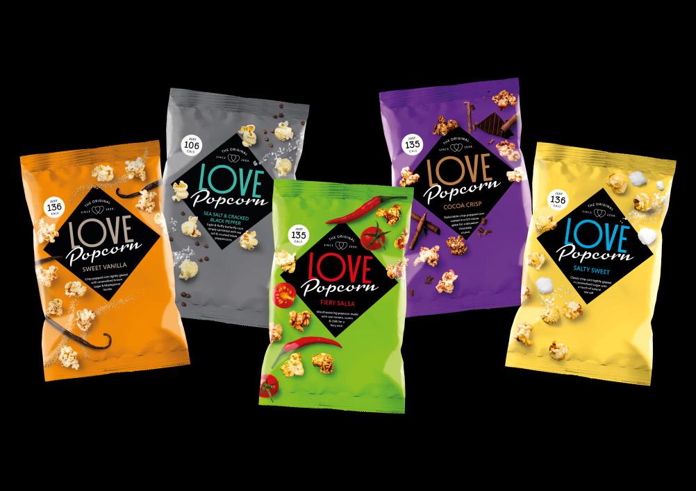 Love Popcorn range