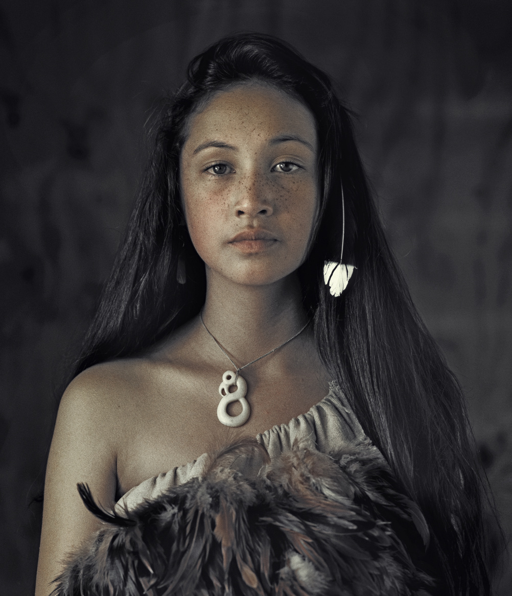 Maori, Rauwhiri Winitana Paki, Taupo Village, North Island, New Zealand 2011