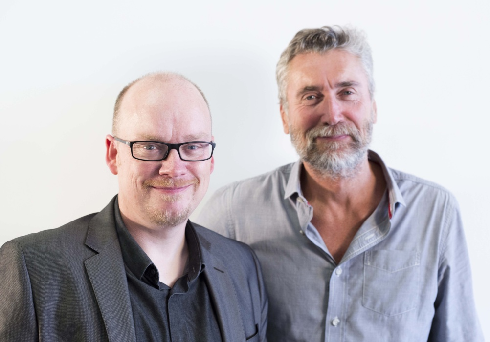 D&AD President Mark Bonner (left) and chief executive Tim Lindsay