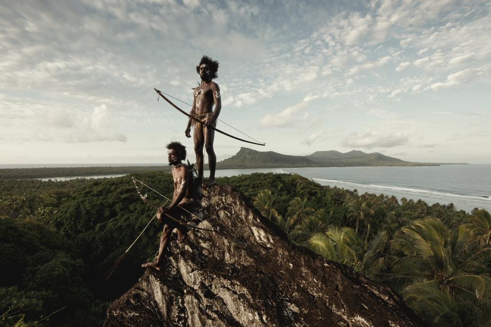 Ni Vanuatu, Rock of Rah, Rah Lava Island, Torba Province, Vanuatu, 2011