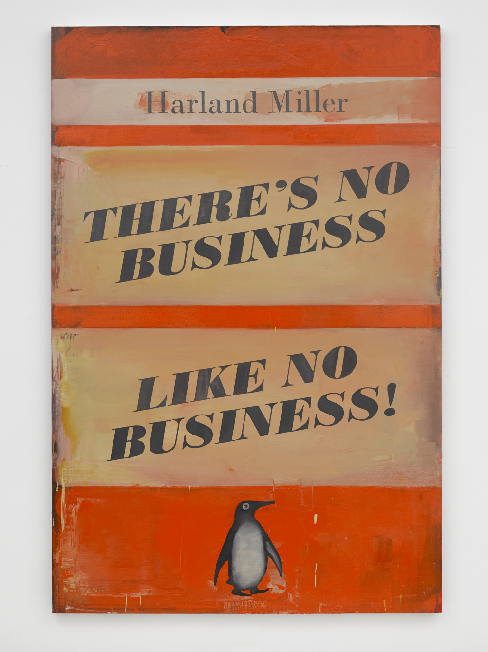 Harland Miller No Business Like No Business 2014