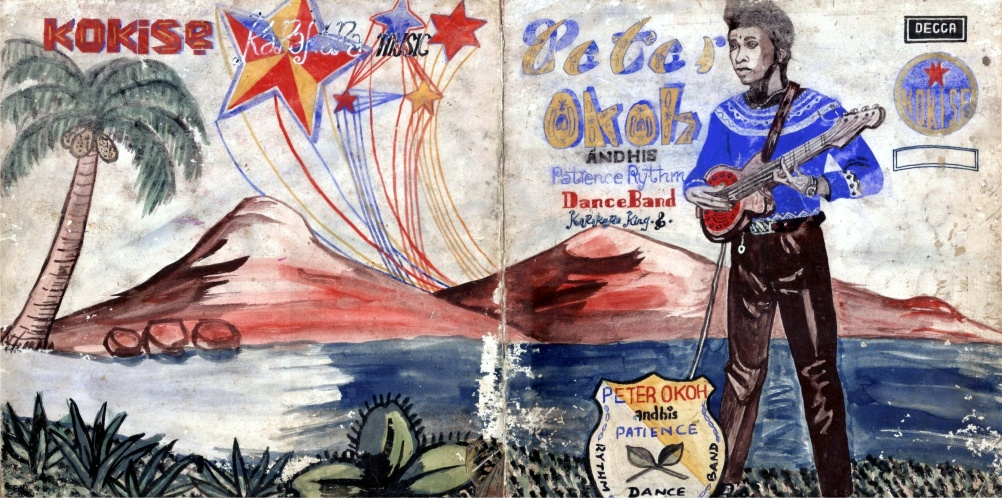 Peter Okoh Patience Rhythm Band, front cover, 1973