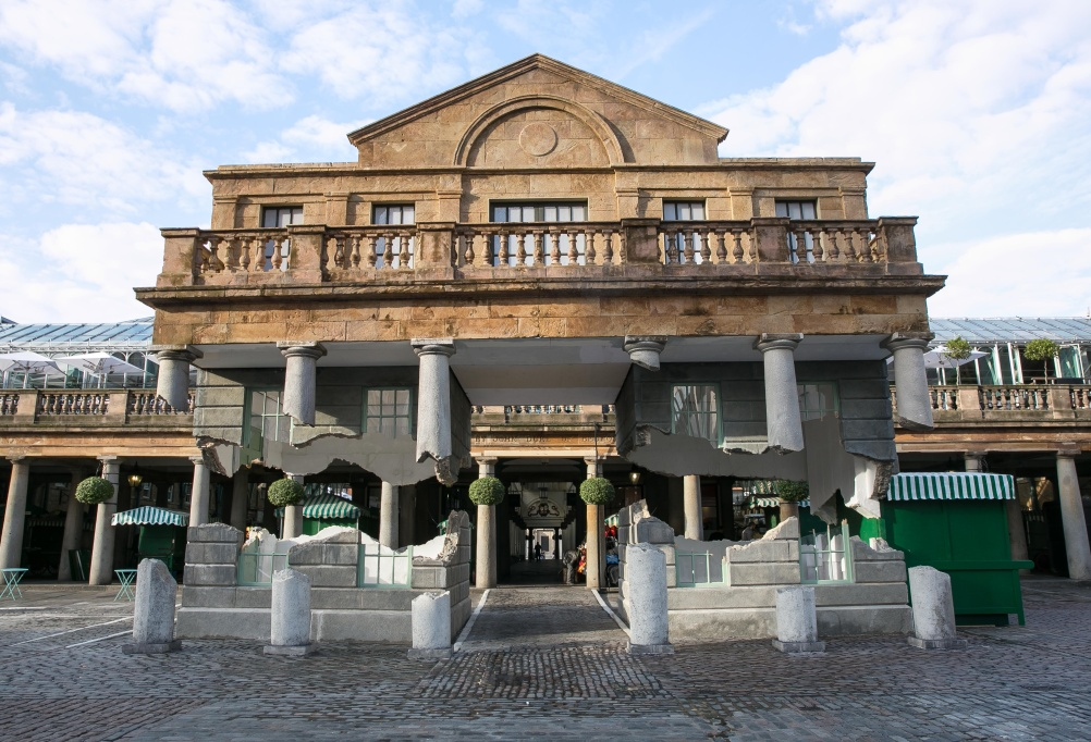 'Take my lightning but don't steal my thunder' - Alex Chinneck in Covent Garden
