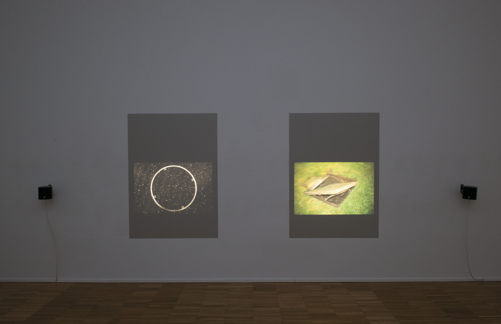 Tris Vonna-Michell, Postscript II (Berlin) 2013 Installation view at Jan Mot, Brussels, 7 November 2013 - 8 February 2014